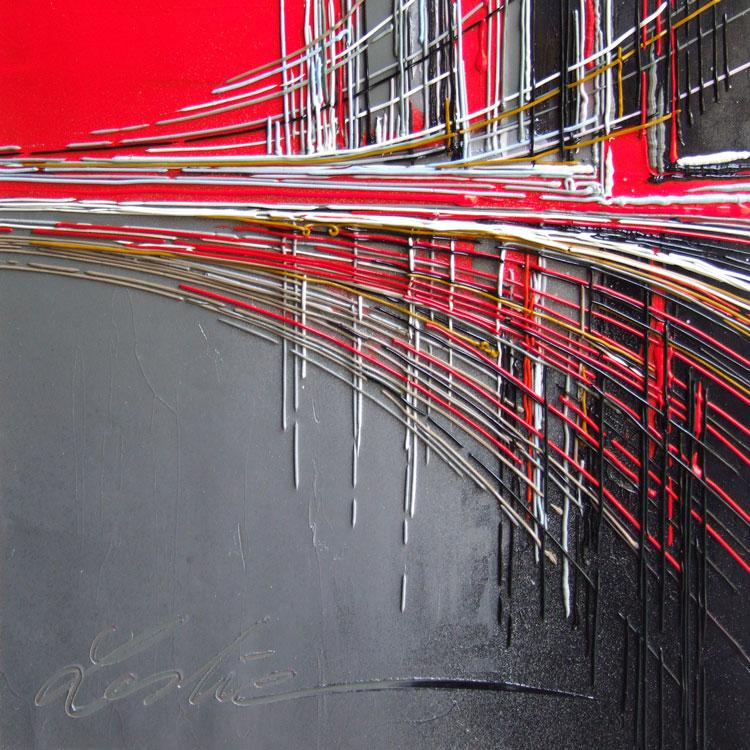 36 x36 cm huile/toile  Réf: URB0186